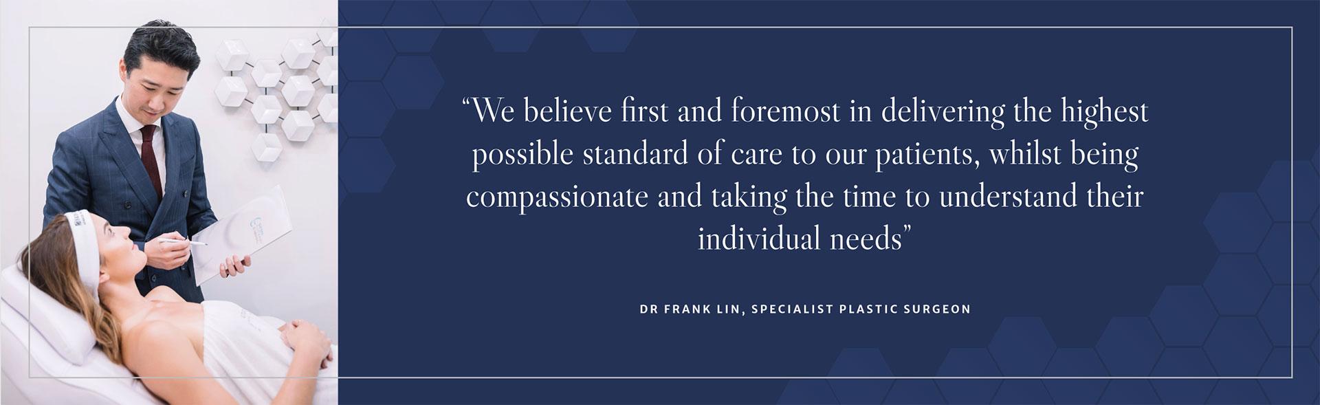 Eastern Plastic Surgery- Dr Frank Lin Specialist Plastic Surgeon